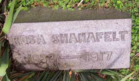 SHANAFELT, ROSA - Stark County, Ohio | ROSA SHANAFELT - Ohio Gravestone Photos