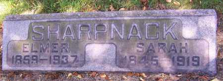SHARPNACK, SARAH - Stark County, Ohio | SARAH SHARPNACK - Ohio Gravestone Photos