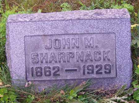 SHARPNACK, JOHN M. - Stark County, Ohio   JOHN M. SHARPNACK - Ohio Gravestone Photos