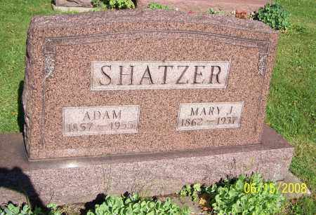 SHATZER, MARY J. - Stark County, Ohio | MARY J. SHATZER - Ohio Gravestone Photos