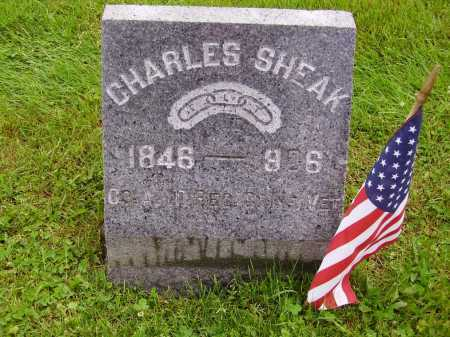 SHEAK, CHARLES - Stark County, Ohio | CHARLES SHEAK - Ohio Gravestone Photos