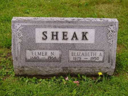 LONGWORTH SHEAK, ELIZABETH ANN - Stark County, Ohio | ELIZABETH ANN LONGWORTH SHEAK - Ohio Gravestone Photos