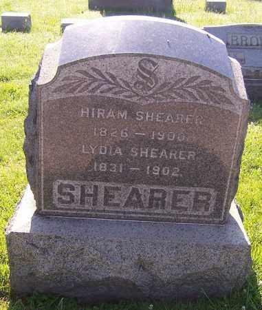SHEARER, HIRAM - Stark County, Ohio | HIRAM SHEARER - Ohio Gravestone Photos