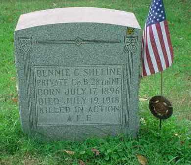 SHELINE, BENNIE C - Stark County, Ohio | BENNIE C SHELINE - Ohio Gravestone Photos