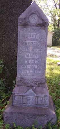 SHERRICK, CHRISTIAN - Stark County, Ohio | CHRISTIAN SHERRICK - Ohio Gravestone Photos