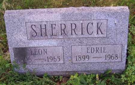 SHERRICK, LEON - Stark County, Ohio | LEON SHERRICK - Ohio Gravestone Photos