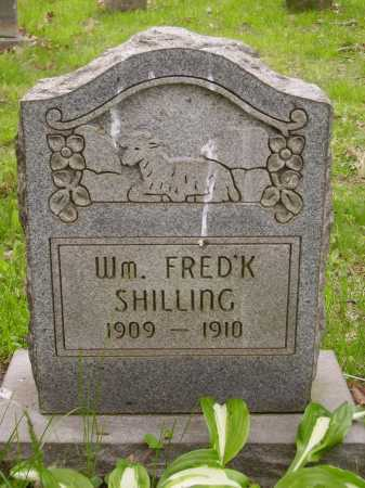 SHILLING, WM. FREDERICK - Stark County, Ohio | WM. FREDERICK SHILLING - Ohio Gravestone Photos