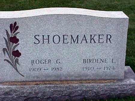 SHOEMAKER, BIRDENE CATHERINE - Stark County, Ohio | BIRDENE CATHERINE SHOEMAKER - Ohio Gravestone Photos