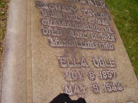 OGLE SHOEMAKER, ELLA - Stark County, Ohio   ELLA OGLE SHOEMAKER - Ohio Gravestone Photos
