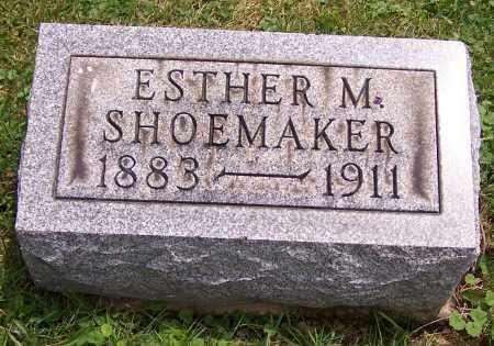 SHOEMAKER, ESTHER M. - Stark County, Ohio   ESTHER M. SHOEMAKER - Ohio Gravestone Photos
