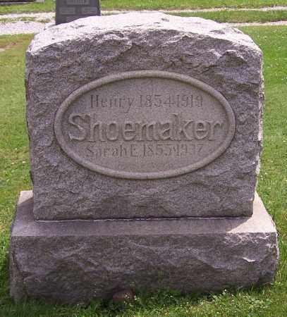 REAM SHOEMAKER, SARAH E. - Stark County, Ohio | SARAH E. REAM SHOEMAKER - Ohio Gravestone Photos