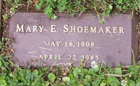SHOEMAKER, MARY E. - Stark County, Ohio   MARY E. SHOEMAKER - Ohio Gravestone Photos