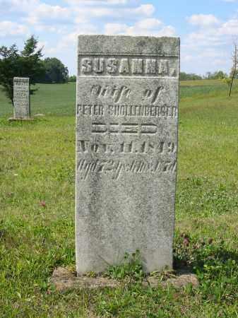 SHOLLENBERGER, SUSANNA - Stark County, Ohio   SUSANNA SHOLLENBERGER - Ohio Gravestone Photos