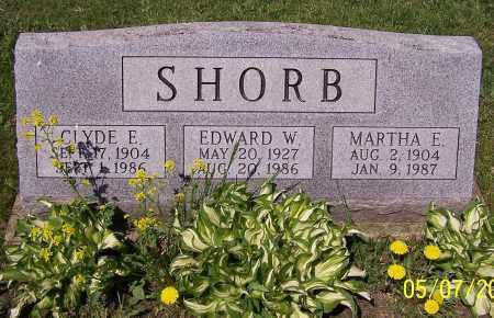 SHORB, EDWARD W. - Stark County, Ohio | EDWARD W. SHORB - Ohio Gravestone Photos