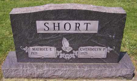 SHORT, MAURICE E. - Stark County, Ohio   MAURICE E. SHORT - Ohio Gravestone Photos