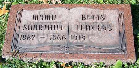 LEAVERS, BETTY - Stark County, Ohio   BETTY LEAVERS - Ohio Gravestone Photos