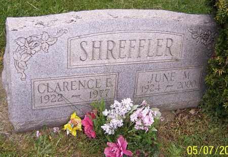 SHREFFLER, JUNE M. - Stark County, Ohio   JUNE M. SHREFFLER - Ohio Gravestone Photos