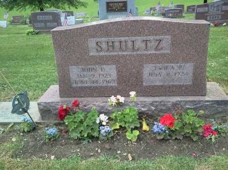 SHULTZ, TWILA P. - Stark County, Ohio | TWILA P. SHULTZ - Ohio Gravestone Photos