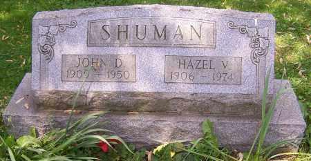 SHUMAN, HAZEL V. - Stark County, Ohio | HAZEL V. SHUMAN - Ohio Gravestone Photos