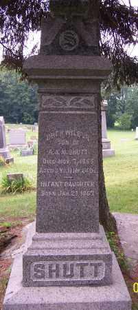 SHUTT, OREN WILBUR - Stark County, Ohio   OREN WILBUR SHUTT - Ohio Gravestone Photos