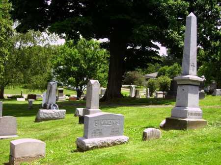 SIMMONS, MONUMENTS - Stark County, Ohio | MONUMENTS SIMMONS - Ohio Gravestone Photos