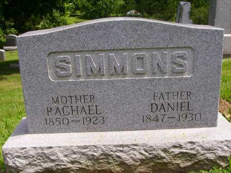 SIMMONS, RACHAEL - Stark County, Ohio | RACHAEL SIMMONS - Ohio Gravestone Photos