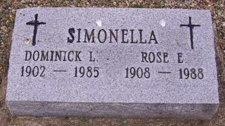 SIMONELLA, ROSE E. - Stark County, Ohio | ROSE E. SIMONELLA - Ohio Gravestone Photos