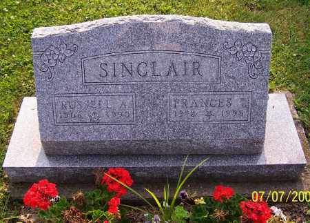 SINCLAIR, RUSSELL A. - Stark County, Ohio | RUSSELL A. SINCLAIR - Ohio Gravestone Photos