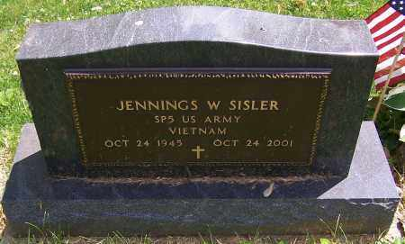 SISLER, JENNINGS W. (MIL) - Stark County, Ohio | JENNINGS W. (MIL) SISLER - Ohio Gravestone Photos