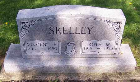 SKELLEY, VINCENT E. - Stark County, Ohio | VINCENT E. SKELLEY - Ohio Gravestone Photos
