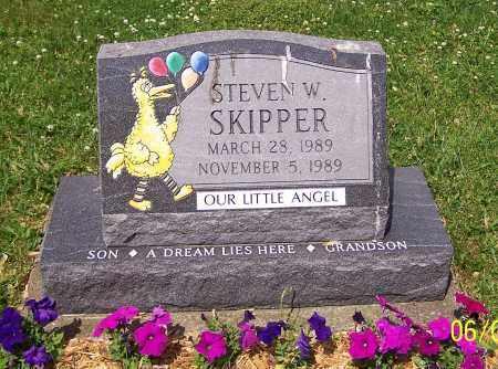 SKIPPER, STEVEN W. - Stark County, Ohio | STEVEN W. SKIPPER - Ohio Gravestone Photos