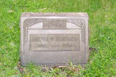 SLICKER, JACOB P. - Stark County, Ohio | JACOB P. SLICKER - Ohio Gravestone Photos