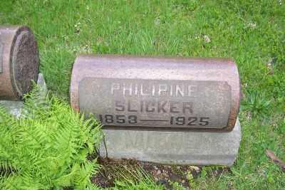 SLICKER, PHILIPINE - Stark County, Ohio | PHILIPINE SLICKER - Ohio Gravestone Photos