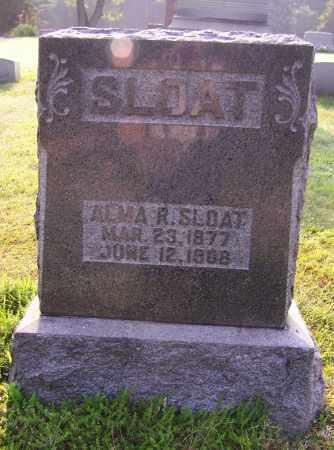 SLOAT, ALMA R. - Stark County, Ohio | ALMA R. SLOAT - Ohio Gravestone Photos