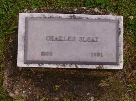 SLOAT, CHARLES - Stark County, Ohio   CHARLES SLOAT - Ohio Gravestone Photos