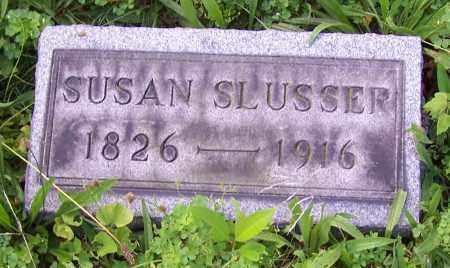 SLUSSER, SUSAN - Stark County, Ohio | SUSAN SLUSSER - Ohio Gravestone Photos