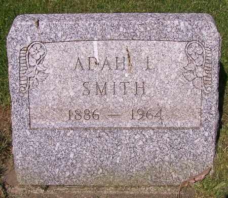 SMITH, ADAH L. - Stark County, Ohio   ADAH L. SMITH - Ohio Gravestone Photos