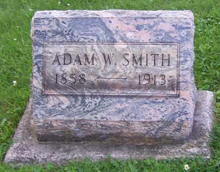 SMITH, ADAM W. - Stark County, Ohio   ADAM W. SMITH - Ohio Gravestone Photos