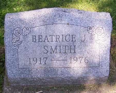 SMITH, BEATRICE J. - Stark County, Ohio   BEATRICE J. SMITH - Ohio Gravestone Photos