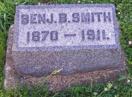SMITH, BENJ B. - Stark County, Ohio   BENJ B. SMITH - Ohio Gravestone Photos
