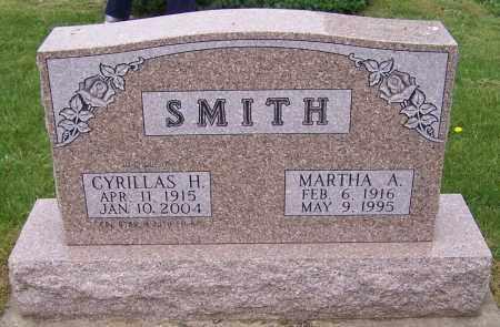 SMITH, MARTHA A. - Stark County, Ohio | MARTHA A. SMITH - Ohio Gravestone Photos