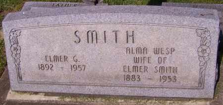 WESP SMITH, ALMA - Stark County, Ohio   ALMA WESP SMITH - Ohio Gravestone Photos