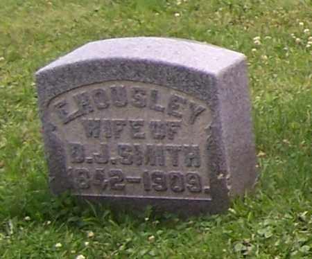 SMITH, E. HOUSLEY - Stark County, Ohio | E. HOUSLEY SMITH - Ohio Gravestone Photos