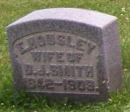 HOUSLEY SMITH, E. - Stark County, Ohio   E. HOUSLEY SMITH - Ohio Gravestone Photos