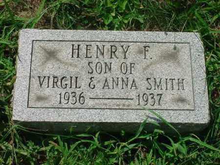 SMITH, HENRY F - Stark County, Ohio | HENRY F SMITH - Ohio Gravestone Photos