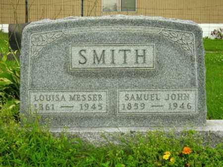MESSER SMITH, LOUISA - Stark County, Ohio | LOUISA MESSER SMITH - Ohio Gravestone Photos