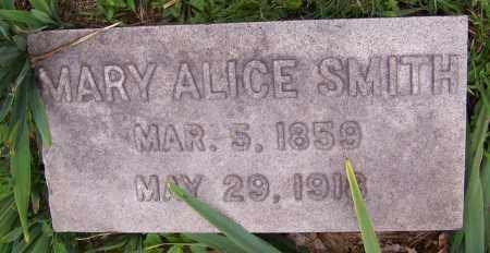 SMITH, MARY ALICE - Stark County, Ohio   MARY ALICE SMITH - Ohio Gravestone Photos