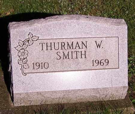 SMITH, THURMAN W. - Stark County, Ohio   THURMAN W. SMITH - Ohio Gravestone Photos