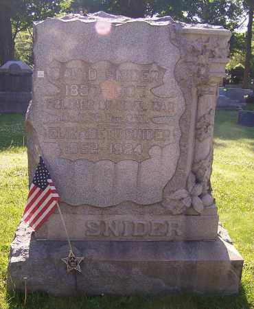 SNIDER, ELIZABETH - Stark County, Ohio | ELIZABETH SNIDER - Ohio Gravestone Photos