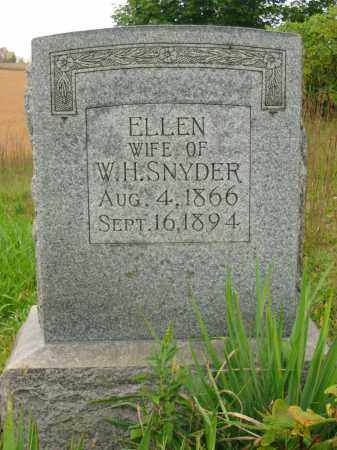 SNYDER, ELLEN - Stark County, Ohio   ELLEN SNYDER - Ohio Gravestone Photos
